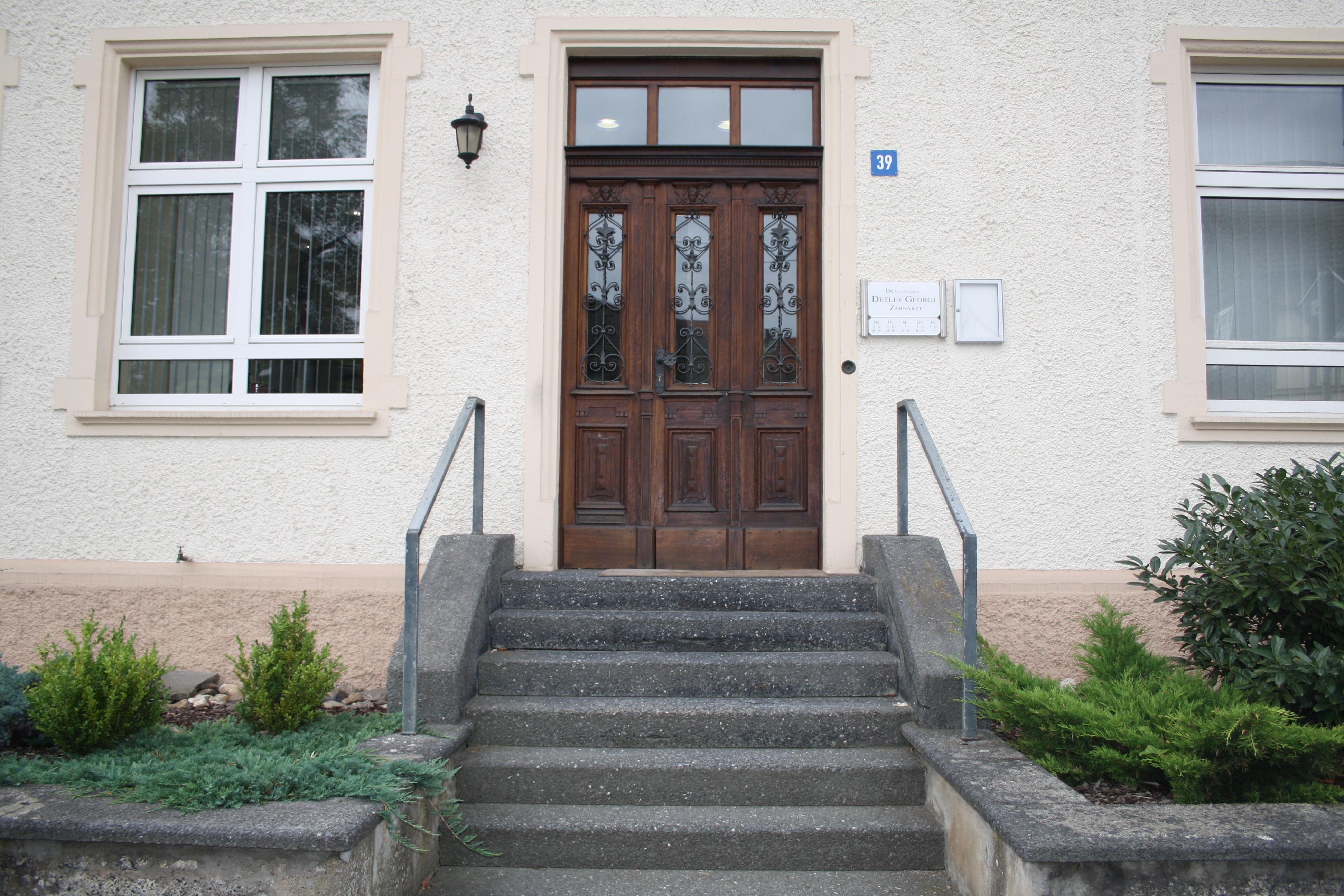 Außenansicht - Zahnarztpraxis Dr. Detlev Georgi in 96126 Maroldsweisach